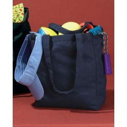 BE008 BAGedge 12 oz. Canvas Book Tote