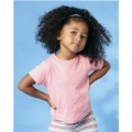 3301T Rabbit Skins Toddler Short Sleeve Cotton T-Shirt