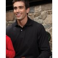 437ML Jerzees 5.6 oz. 50/50 Long-Sleeve Jersey Polo with SpotShield