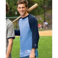 T1397 Champion 6.1 oz. Tagless Raglan Baseball T-Shirt