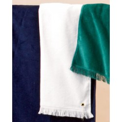 T64G Anvil Fringed Hand Towel with Grommet