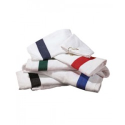 T68CTH Anvil Hemmed Tri-Fold Hand Towel with Contrast Dobby Border