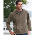 1940 Authentic Pigment 11 oz. Pigment-Dyed Ringspun Cotton Full-Zip Hood