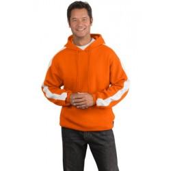 F255 Sport-Tek® - Pullover Hooded Sweatshirt with Stripe