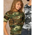 2206 Code V Youth Camouflage Cotton T-Shirt