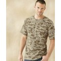 3906 Code V Adult Camouflage Cotton T-Shirt