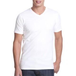 9948ba326 N3200 Next Level Apparel Fitted Mens Short-Sleeve V-Neck T-Shirt
