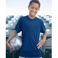 2120 Badger Youth B-Dry Core T-Shirt with Sport Shoulders