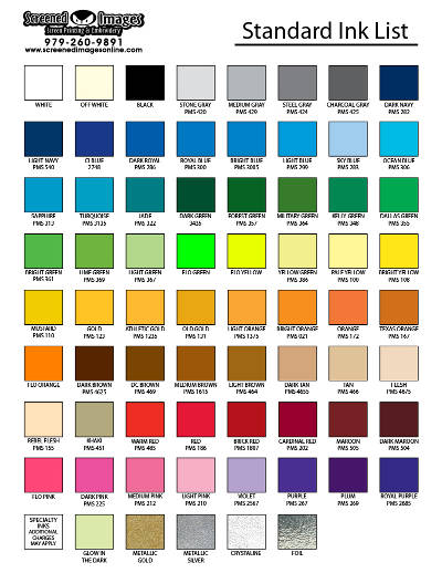 SI Color Chart